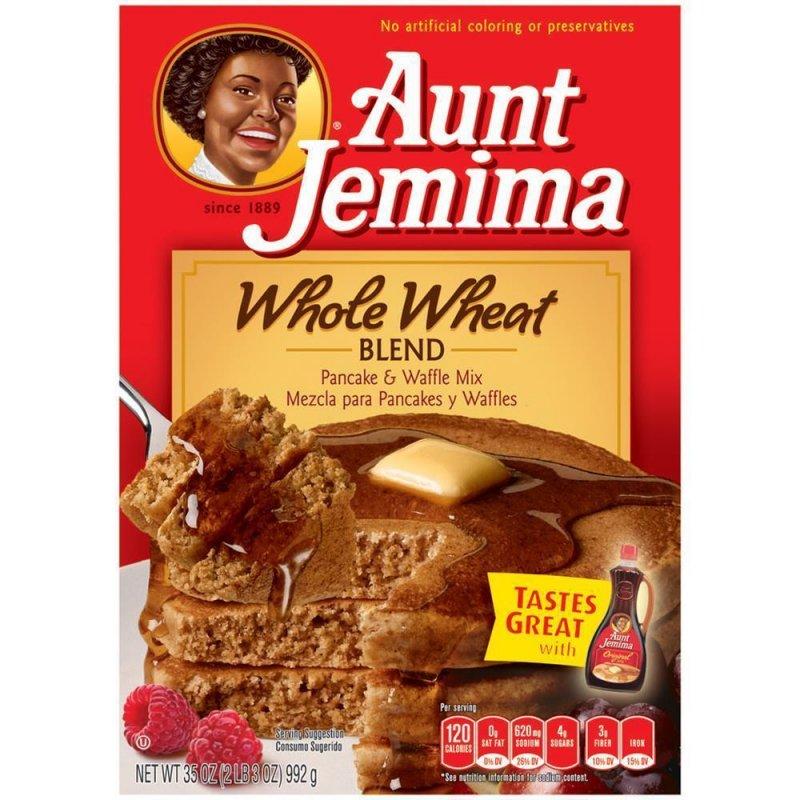 Aunt Jemima Whole Wheat - Pancake & Waffle Mix (992g), 5,79 &euro