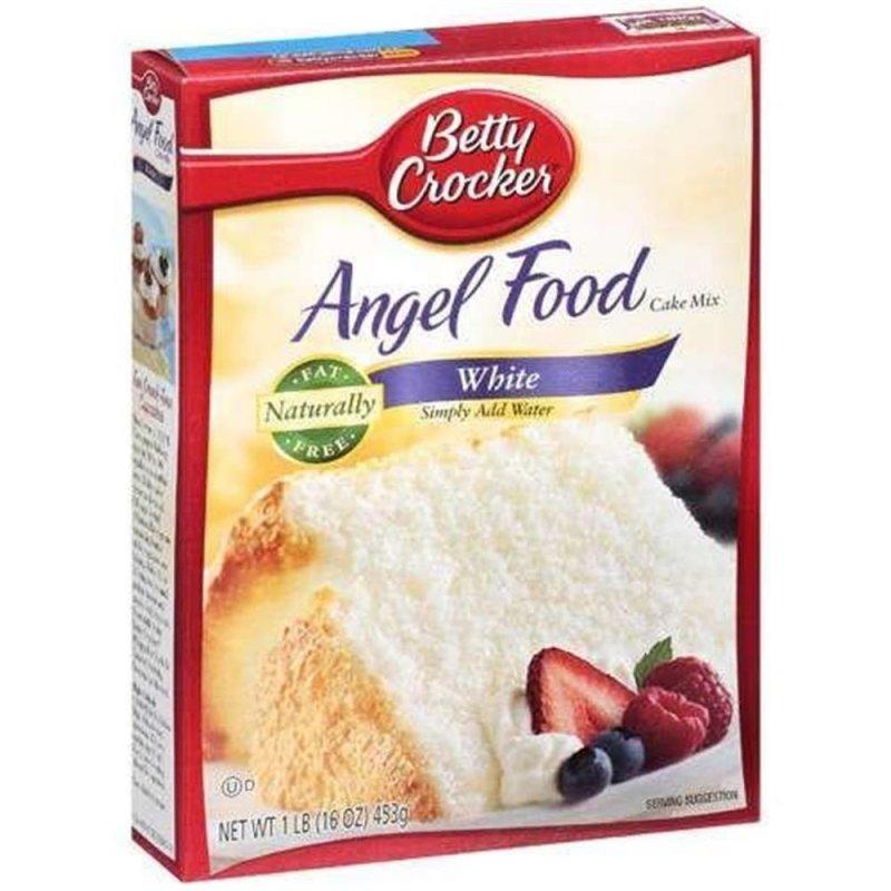 Betty Crocker Gluten Free Angel Food Cake Recipe