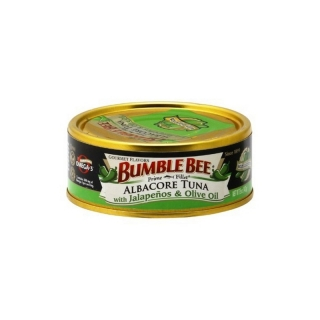Bumble Bee Prime Filet Albacore Tuna with Jalapenos & Olive Oil (142g)