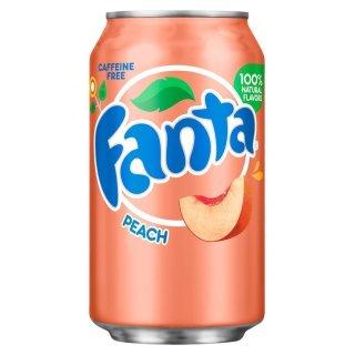 Fanta - Peach - 1 x 355 ml