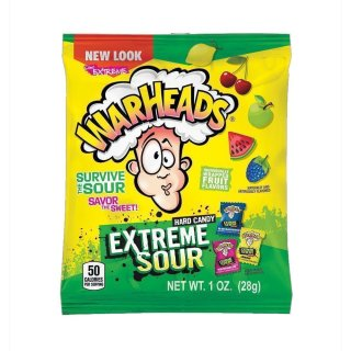 Warheads - Extreme Sour Hard Candy (12x 28g)