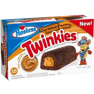 Hostess Chocolate Peanut Butter Twinkies (385g)