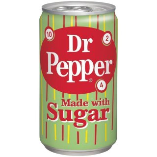 Dr Pepper - Made with Sugar - 1 x 355 ml