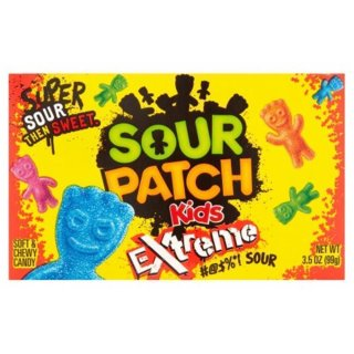 Sour Patch Kids Extreme Soft & Chewy Candy (12 x 99g)
