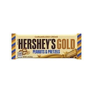 Hersheys Gold - Peanuts & Pretzels - 1 x 39g