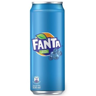 Fanta - Blueberry - 12 x 330 ml