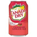 Canada Dry - Cranberry Ginger Ale -  24 x 355 ml