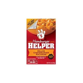 Hamburger Helper - Deluxe Cheeseburger Macaroni (155g)