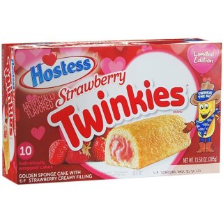 Hostess Strawberry Twinkies  (385g)