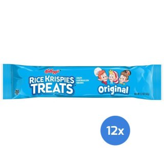 Kelloggs Rice Krispies Treats - Crispy Marshmallow Squares (12x62g)