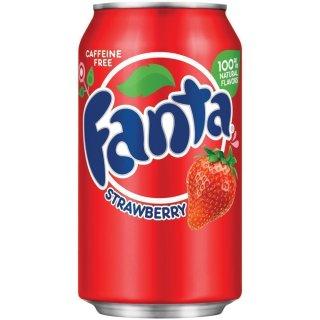 Fanta - Strawberry - 1 x 355 ml