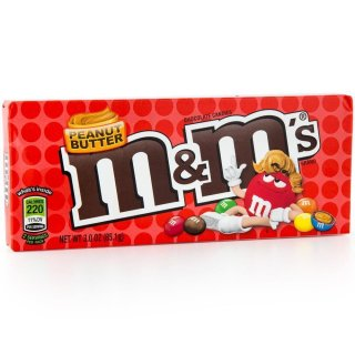 M&Ms - Peanut Butter - chocolate candies (1x 85,1g)