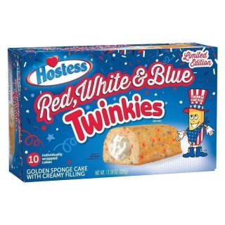 Hostess Red, White & Blue Twinkies - Limited Edition (385g)