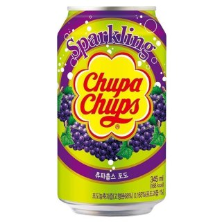 Chupa Chups - Sparkling Grape - 24 x 345 ml