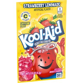 Kool-Aid Drink Mix - Strawberry Lemonade - 1 x 5,3 g