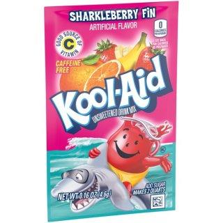 Kool-Aid Drink Mix - Sharkleberry Fin - 1 x 4,6 g