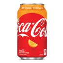 Coca-Cola - Orange Vanilla - 1 x 355 ml