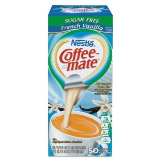 Nestle - Coffee-Mate - Sugar Free - French Vanilla - 50 x 11 ml