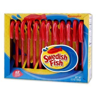 Spangler - Swedish Fish - Candy Canes (150g)
