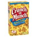 Crunch n Munch Buttery Toffee Popcorn mit Erdnüsen...