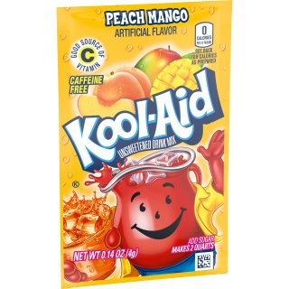 Kool-Aid Drink Mix - Peach Mango - 1 x 4,0 g