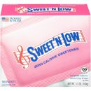 Sweet N Low® Zero Calorie Sweetener 100 stk. Box