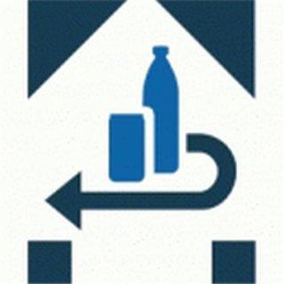 DPG Pfandaufkleber inkl. Inhaltsstoffangabe BEKLEBEN, je Aufkleber (eigene Adresse)