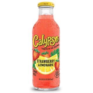 Calypso - Strawberry Lemonade - Glasflasche - 1 x 473 ml