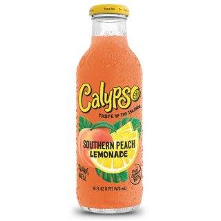 Calypso - Southern Peach Lemonade - Glasflasche - 1 x 473 ml