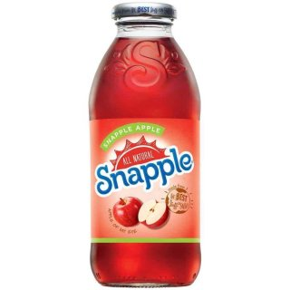 Snapple - Apple - Glasflasche - 1 x 473 ml