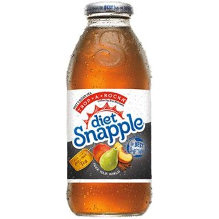 Snapple - DIET Trop-A-Rocka - Glasflasche - 1 x 473 ml