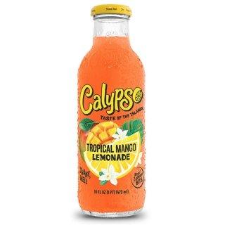 Calypso - Tropical Mango Lemonade - Glasflasche - 1 x 473 ml