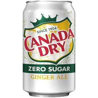 Canada Dry - Diet Ginger Ale - 355 ml