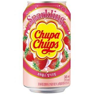 Chupa Chups - Sparkling Erdbeer - 345 ml