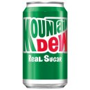 Mountain Dew - Real Sugar - 355 ml