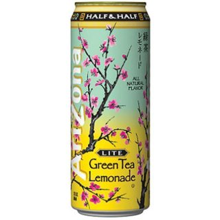 Arizona - Half & Half LITE Green Tea Lemonade - 680 ml