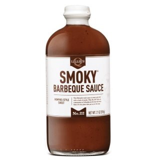 Lillie´s - Smoky Barbeque Sauce - 6 x 595ml