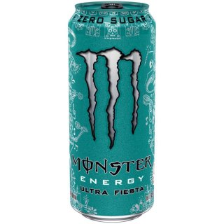 Monster USA - Zero - Ultra Fiesta Energy - 1 x 473 ml
