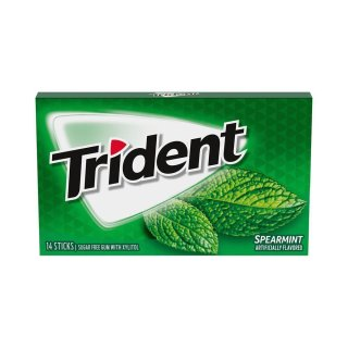 Trident - Spearmint - 14 Stück