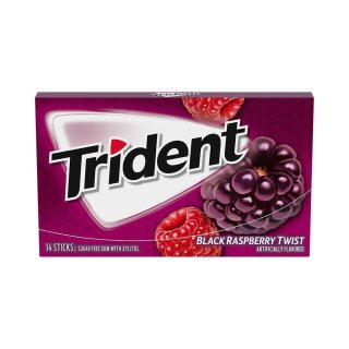 Trident - Black Raspberry Twist - 14 Stück
