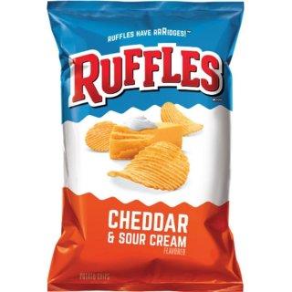 Ruffles - Cheddar & Sour Cream - 184,2g