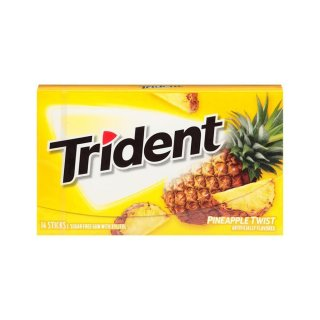 Trident - Pinapple Twist - 14 Stück
