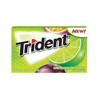 Trident - Lime Passionfruit Twist - 14 Stück