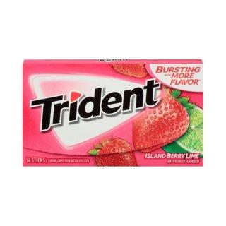 Trident - Island Berry Lime Twist - 14 Stück