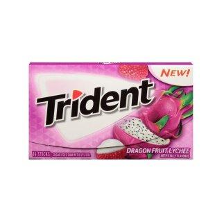 Trident - Dragon Fruit Lychee - 14 Stück