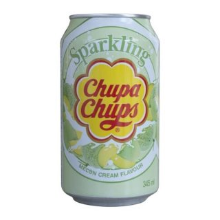 Chupa Chups - Sparkling Melon Cream - 1 x 345 ml