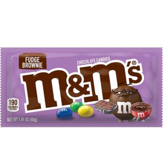 M&Ms - Fudge Brownie - 24 x 40g