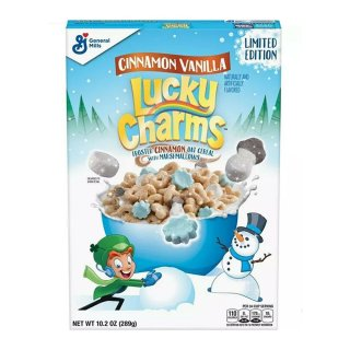 Lucky Charms - Cinnamon Vanilla Limited Edition - 289g