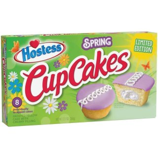 Hostess - CupCakes Spring Limited Edition - 6 x 383g