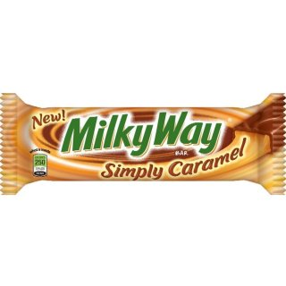 MilkyWay - simply Caramel - 54g